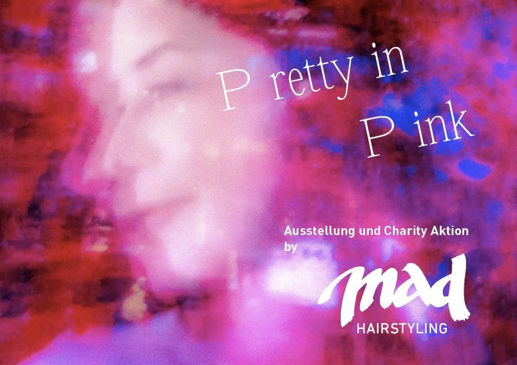 charity, exhibition, pretty in pink, zürich, citylife, streetlife